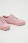 Buty damskie różowe zamszowe