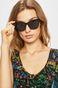 Okulary przeciwsłoneczne damskie  w kwadratowej oprawie czarne