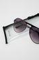 Okulary przeciwsłoneczne aviator męskie czarne