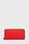 Portfel damski czerwony ze skóry ekologicznej