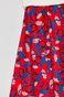 Spódnica damska rozkloszowana wzorzysta