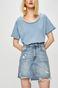 Spódnica damska jeansowa niebieska