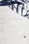 Jeansy męskie slim fit białe