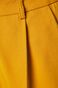 Spodnie damskie ze zwężaną nogawką żółte