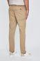 Spodnie męskie ze zwężaną nogawką beżowe