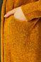 Kardigan damski żółty