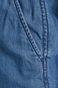 Szorty damskie ściągane troczkami niebieskie