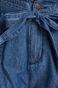 Szorty damskie z podwyższonym stanem niebieskie