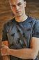 T-shirt męski szary by Michalina Bolach, Falka Art