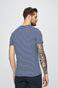 T-shirt męski w paski niebieski