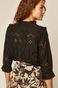 Koszula damska ażurowa czarna