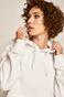 Bluza damska z kapturem biała