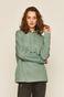 Bluza damska z kapturem zielona