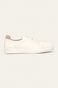Buty skórzane damskie białe