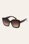 Okulary przeciwsłoneczne damskie brązowe