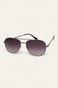 Okulary przeciwsłoneczne męskie aviator czarne