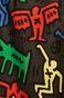 Spódnica damska by Keith Haring czarna