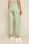 Spodnie damskie slouchy zielone