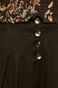 Spodnie damskie cullotes czarne