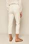 Spodnie damskie carrot białe