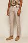 Spodnie męskie lniane beżowe