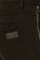 Spodnie męskie z kieszeniami cargo czarne