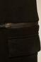 Spodnie dresowe męskie z kieszeniami czarne