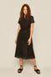 Sukienka damska ażurowa czarna