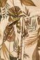 Sukienka damska ściągana w talii beżowa