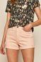 Szorty damskie jeansowe różowe