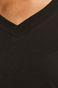 T-shirt damski ze spiczastym dekoltem szary