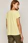 T-shirt damski z bawełny organicznej zielony