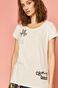 T-shirt damski by Keith Haring biały