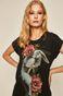 T-shirt damski by Aleksandra Kozubska, Tattoo Konwent szary