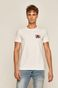T-shirt męski by Keith Haring biały