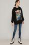 Bluza damska z kolekcji EVIVA L'ARTE czarna