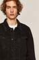 Kurtka jeansowa męska Banksy's Graffiti czarna