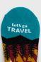 Skarpetki damskie Let's go travel (3-pack)
