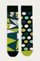 Skarpetki męskie we wzory geometryczne (2-pack)
