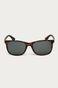 Okulary przeciwsłoneczne damskie z polaryzacją we wzorzystej oprawie