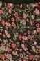 Spódnica damska mini w kwiaty o rozkloszowanym kroju