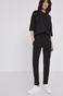 Spodnie damskie z bawełny organicznej czarne