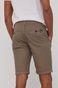 Bawełniane szorty męskie w drobny wzór beżowe