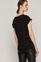 T-shirt damski z kolekcjji EVIVA L'ARTE z bawełny organicznej beżowy