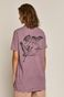 T-shirt damski by Ola Płocidem, Tattoo Art różowy