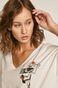 T-shirt damski by Akvarko, Tattoo Art biały