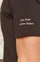 T-shirt męski z bawełny organicznej Banksy's Graffiti szary