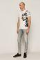 T-shirt męski by Akvarko, Tattoo Art biały