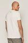 T-shirt męski z bawełny organicznej by Mojkaink, Tattoo Art biały