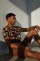 T-shirt męski z bawełny organicznej by Bartek Bojarczuk czarny